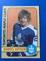 Darryl Sittler 1972-73 O-Pee-Chee OPC Hockey Card #188 Toronto Maple Leafs