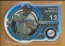 Hanley Ramirez 2013 Topps Chrome Dynamic Die Cuts Card # DY-HR Boston Red Sox
