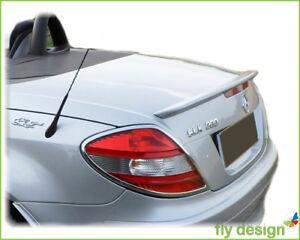 Mercedes SLK Tuning R 171 SPOILER HECKSPOILER Typ A LIPPE * BRILLANT SILBER 775