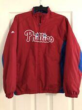 Philadelphia Phillies YOUTH Large Majestic  Authentic Collection Jacket Baseball