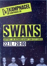 SWANS - 2012 - Konzertplakat - Concert - The Seer - Tourposter - Hamburg
