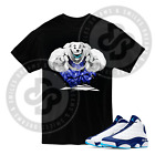 Polar Bear T Shirt for Jordan 13 Obsidian Powder Blue Carolina All Sizes