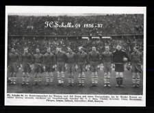 FC Schalke 04 Mannschaftskarte  1936-37