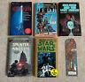 Lot of 5 Vintage Star Wars Paperback Books + original 1983 Chewbacca Bookmark #7
