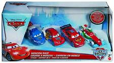 DISNEY PIXAR CARS MOSCOW RACE 4-PACK ICE RACERS CAR SET