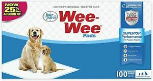 Four Paws Wee Wee pads 100 count