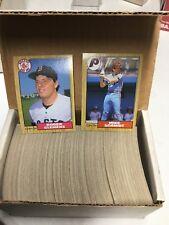 1987 O-Pee-Chee OPC Baseball Complete 396 Card Set #1-396 BEAUTY