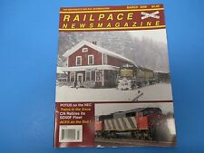Railpace News Magazine March 2009 POTUS On NEC SD50F Fleet Aces On Roll M1541