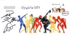 More details for olymphilex 2004 cover signed jayne torvill and christopher dean