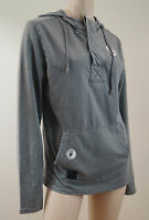 OAKLEY Grey Cotton Blend Hoodie Long Sleeve Hooded Sweater Top Sz: S/P BNWT