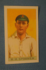 1912 Reeves Chocolates Cricket Prints by County Print 1993 - R.H. Spooner.