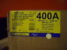 HU365 splo, 400 Amp, 600V, 3 Pole non fuse Heavy Duty Switch N1