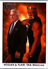 TNA Hulk Hogan & Ric Flair #100 OBAK Retro Card Short Print 600 2010 New Era DWC