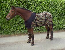 BNWT CAMOUFLAGE FLEECE BOYS TRAVEL RUG PONY SMALL 4ft 9