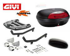 HONDA CBR1100 BLACKBIRD GIVI MONOKEY RACK & KAPPA K48N TOP BOX + BACKREST