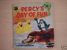 Vintage H/B Book PERCY'S DAY OF FUN by Zeny Edwards1978