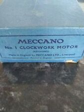 Meccano Clockwork Motor No. 1
