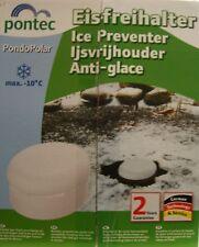 Teich Eisfreihalter mit Belüftungsschlitzen Faulgase Winterschutz Frostwächter