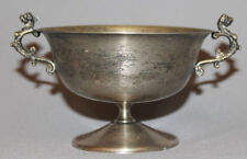 ANTIQUE ART DECO ITALIAN EALES 1779 SILVERPLATED FOOTED BOWL CUP