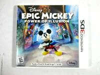 DISNEY EPIC MICKEY POWER OF ILLUSION 3DS 2012