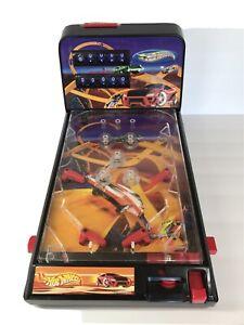 2003 Hot Wheels Table-top Pinball Game w Scoreboard 72859 Uses C Batteries