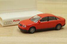 Rietze 63005 voiture Audi A6 2.8 Quattro en rouge 1/87 neuf en BO PUB