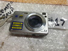 Sony Cyber-Shot DSC-W120 7.2MP Digital Camera Silver Camera Only