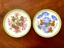Two Butterflies Of The World Decorative Plates Limited Edition China Franklin Mn