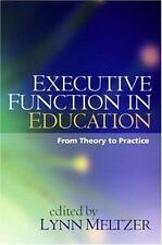 Executive Function in Education: From Theory to Practice - Acceptable  -