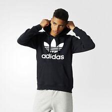 adidas Originals Trefoil 3Foil Hoodie Black Large