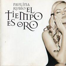 """PAULINA RUBIO """"EL TIEMPO ES ORO"""" RARE SPANISH CD"""