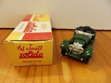 Véhicule miniature SOLIDO : Jaguar SS100 1938