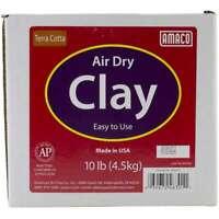 Air-Dry Modeling Clay 10lb Terra Cotta 039672463011