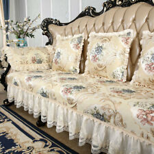 Lace Sofa Cover 3 Seater Couch Protector Luxury Recliner Slipcovers Living Room