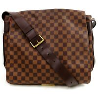 Authentic Louis Vuitton Shoulder Bag Bastille Ebene N45258 Browns Damier 812001