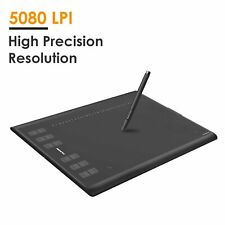 "Huion NEW 1060 Plus Graphics Tablet 10x6.25""USB Pen Tablet 12 Key 8G Memory Card"