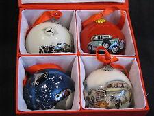 Mercedes-Benz Weihnachtskugeln / Christmas Tree Balls (4pcs) (JS) B66043353