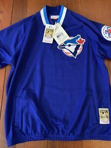 1993 Roberto Alomar #12 Toronto Blue Jays Mens S (36) Mitchell & Ness Jersey $90