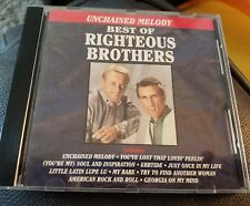Righteous brothers, best of - unchained melody - CD 100% tested VG cond.