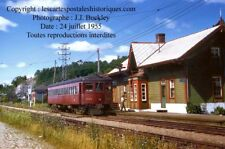 Quebec Québec Chateau-richer gare du QRL&P train station railway railroad