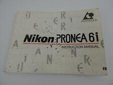 Nikon Pronea 6i Instruction Manual