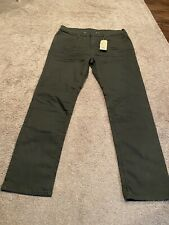 Mens Levi 541 Athletic Fit Taper Jeans 38x34 NEW WITH TAGS Dark Green