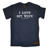 Cycling T-Shirt Funny Novelty Mens tee TShirt - Love Wife Cycling