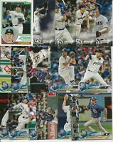 SAN DIEGO PADRES 2018 Topps Series 2 MASTER TEAM SET w/INSERTS (17 Cards)