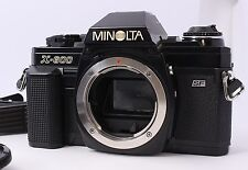 RARE Excellent+++  MINOLTA X-600 35mm SLR Film Camera Body w/ Strap From Japan