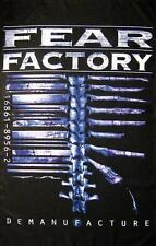 "FEAR FACTORY FLAGGE / FAHNE ""DEMANUFACTURE"" - POSTERFLAG"