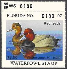 FL10    1988  Florida  State Duck Stamp       DSS
