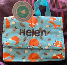 Rex London LUNCH BAG RUSTY THE FOX DESIGN. RECYCLED INSULATED BAG - Helen
