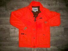 Mount'N Prairie Work Hunting Blaze Orange Hush Hide Silent Jacket Coat Men Large