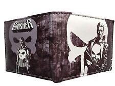 Men Marvel DC Comic Book BiFold Wallet Spiderman Batman Flash Superman Avenger